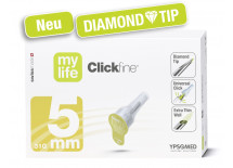 mylife Clickfine 5 mm DiamondTip Universal-Nadel für Injektionspens 100 Stück